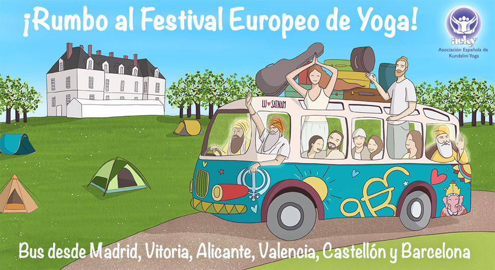Bus al Festival Europeo de Yoga 2019