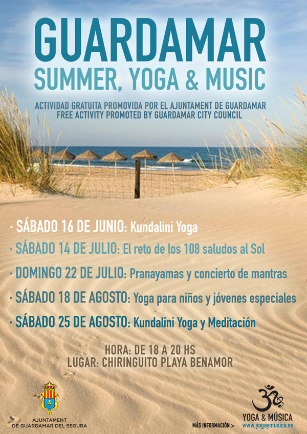 Cartel Guardamar Summer Yoga Music