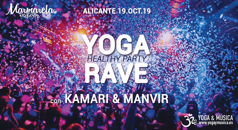 Yoga Rave Alicante 2019